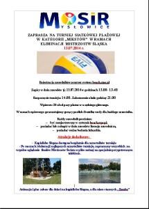 Turniek mikstów w Mysłowicach